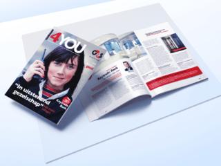 G4S-klantenmagazine